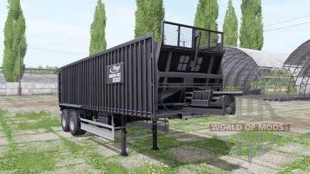 Fliegl ASS 298 GREEN-TEC для Farming Simulator 2017