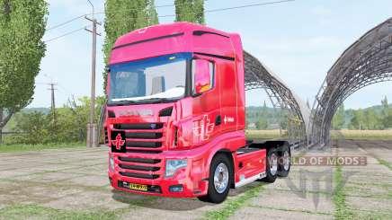 Scania R700 Evo tielbeke v3.0 для Farming Simulator 2017