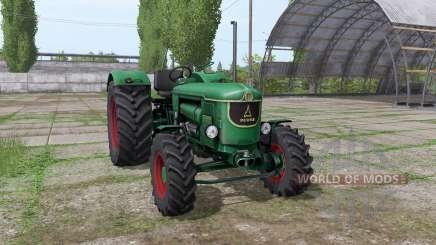 Deutz D 90 05 v0.9 для Farming Simulator 2017