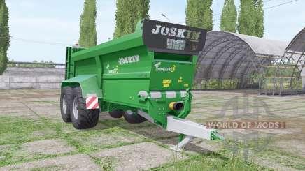JOSKIN Tornado3 edit Stevie для Farming Simulator 2017