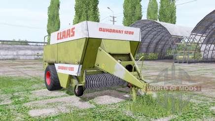 CLAAS Quadrant 1200 для Farming Simulator 2017