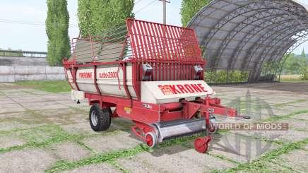 Krone Turbo 2500 v1.4 для Farming Simulator 2017