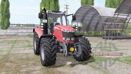 Massey Ferguson 6614 v1.2 для Farming Simulator 2017