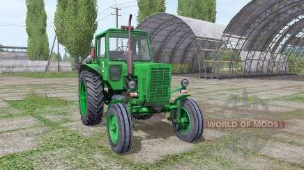 МТЗ 80 Беларус by Nikita197 для Farming Simulator 2017