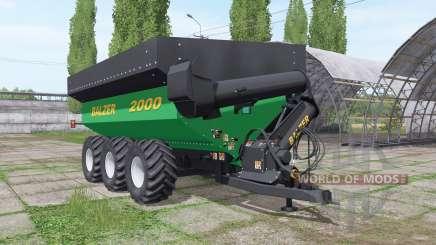 Balzer 2000 Tridem для Farming Simulator 2017