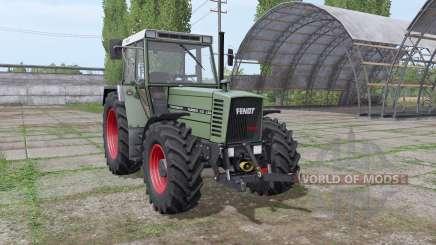 Fendt Farmer 312 LSA Turbomatik v1.1 для Farming Simulator 2017