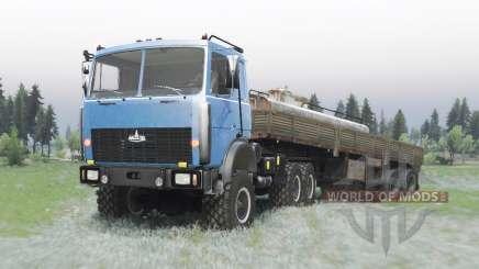 МАЗ 6425 edit Armata для Spin Tires