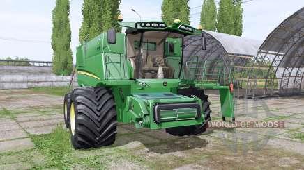 John Deere S680 для Farming Simulator 2017