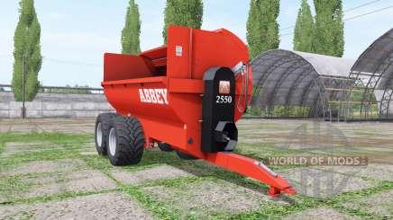 Abbey 2550 для Farming Simulator 2017