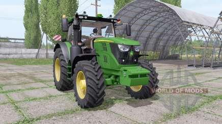 John Deere 6145R v1.1 для Farming Simulator 2017