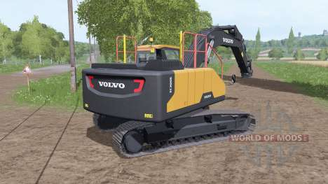 Volvo EC300E v2.0 by TMP для Farming Simulator 2017