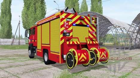 MAN TGM 18.250 Pompier v2.0 для Farming Simulator 2017