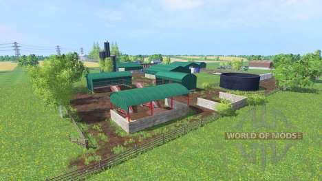 Lochty Burn Farm для Farming Simulator 2015