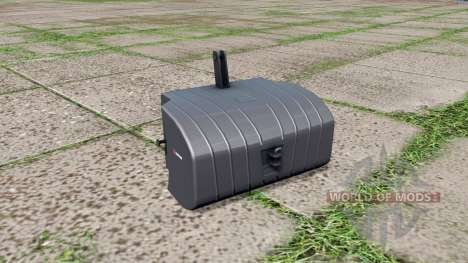 Saphir front weight v1.1 для Farming Simulator 2017