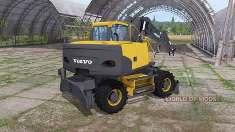 Volvo EW160C для Farming Simulator 2017