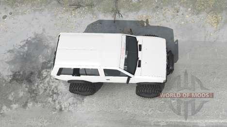 Nissan Terrano R3M 4-door (YD21) 1989 для Spintires MudRunner