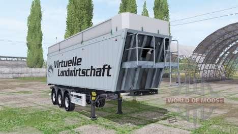 MENCI SA 850 R Virtuelle Landwirtschaft v2.0 для Farming Simulator 2017