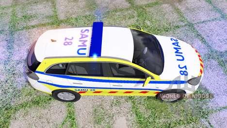 Opel Insignia Sports Tourer 2008 SAMU для Farming Simulator 2017