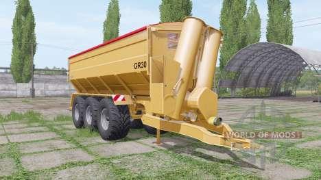 Richard Western GR30 для Farming Simulator 2017