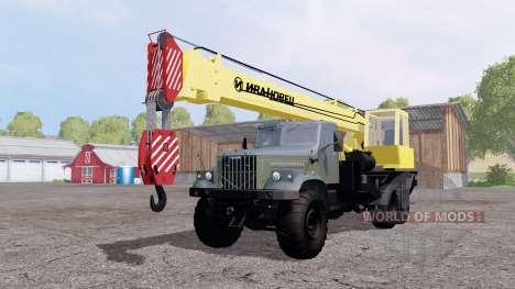 КрАЗ 257 Ивановец для Farming Simulator 2015