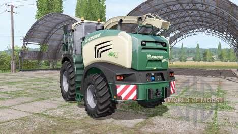 Krone BiG X 600 для Farming Simulator 2017