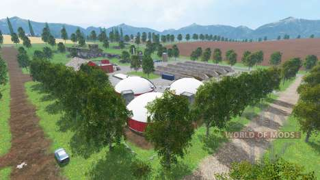 New Westbridge Hills для Farming Simulator 2015