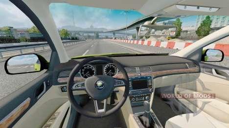 Skoda Superb 2013 для Euro Truck Simulator 2