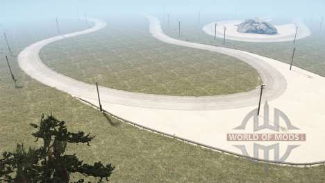 F1 Race Track для Spintires MudRunner