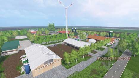 Unna District v2.6 для Farming Simulator 2015