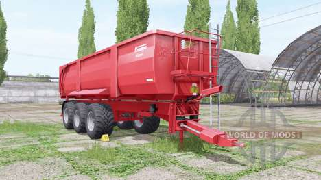 Krampe Big Body 900 edit Xelma для Farming Simulator 2017