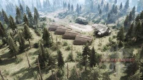 Лес для Spintires MudRunner