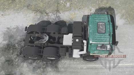Tatra Phoenix T158 agro для Spintires MudRunner