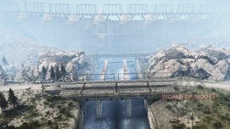 Lancang Dam для Spintires MudRunner