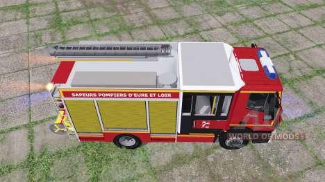 Iveco EuroCargo 2016 SDIS 28 для Farming Simulator 2017