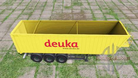 MENCI SA 850 R Deuka для Farming Simulator 2017
