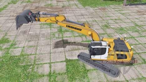 Liebherr R 936 Litronic для Farming Simulator 2017