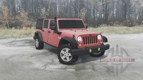 Jeep Wrangler Unlimited Rubicon (JK) 2006 для Spintires MudRunner