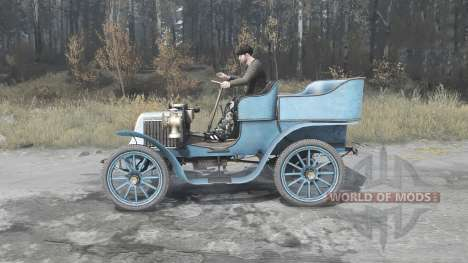 Renault Type G 1902 для Spintires MudRunner