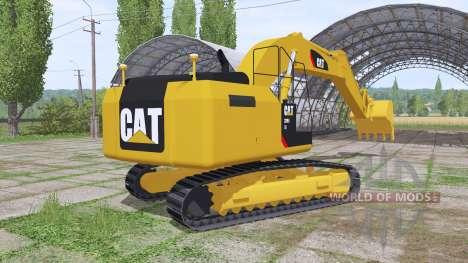 Caterpillar 329E v1.2 для Farming Simulator 2017