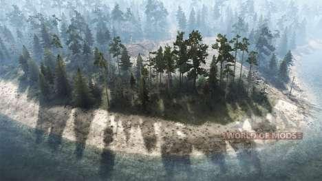 Island Recue для Spintires MudRunner
