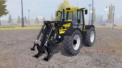 JCB Fastrac 2150 front loader v1.1 для Farming Simulator 2013
