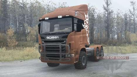 Scania R730 для Spintires MudRunner