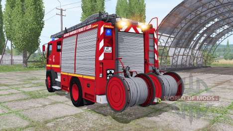 Iveco EuroCargo 1991 Pompier для Farming Simulator 2017
