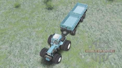 МТЗ-82 Беларус для Spin Tires