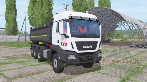 MAN TGS 35.500 8x8 BL Meiller 2016 для Farming Simulator 2017