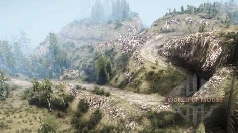 La Luna 5 - The valley для Spintires MudRunner