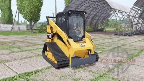 Caterpillar 289D для Farming Simulator 2017