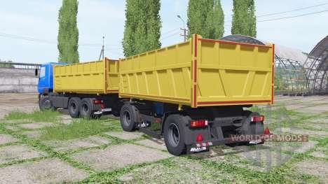 МАЗ 6501В9-470-021 v1.2 для Farming Simulator 2017