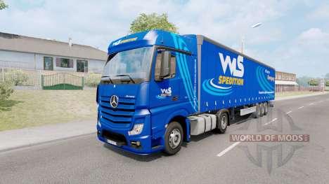 Painted truck traffic pack v5.6 для Euro Truck Simulator 2