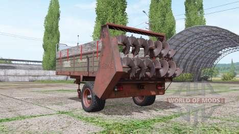 Krone Optimat для Farming Simulator 2017